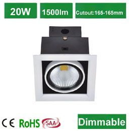 COB LED AR111 20W Grid Down Light