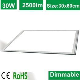 30x60cm LED Panel Light 20W 30W