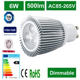 High power 3x2W LED Spotlight