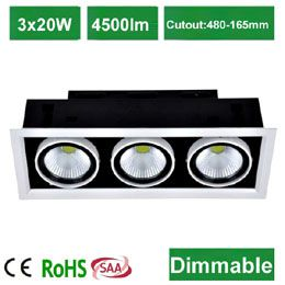 60W COB  Downlight
