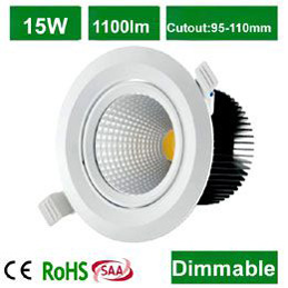 15W COB Downlight